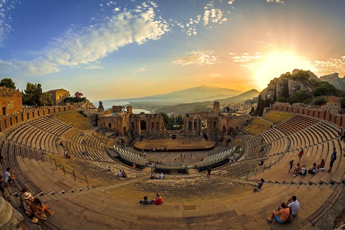 """Sycylia – Festiwal w Taorminie – opera """"Cyrulik Sewilski"""", 5-9.09.2018"""