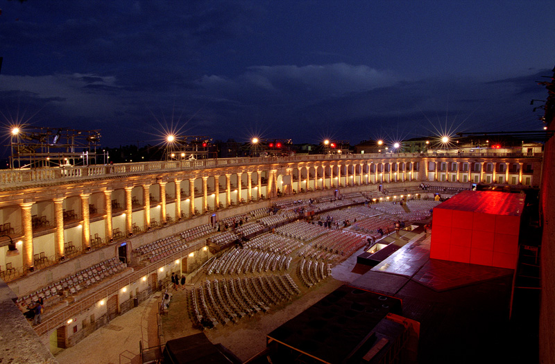 """Macerata (Włochy) – Festiwal Operowy – opera """"Czarodziejski Flet"""" i """"Napój Miłosny"""", 2-6.08.2018"""