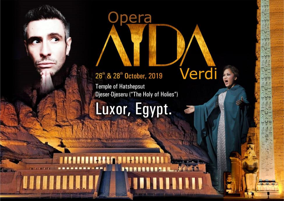 "Luksor (Egipt) – opera ""AIDA"", 24 – 29.10.2019"