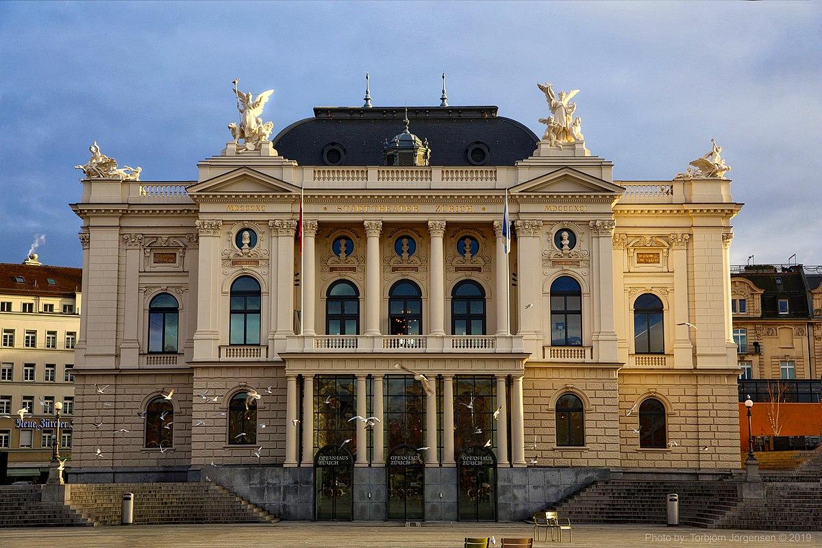 "Zurich – opera ""Maria Stuarda"" – 9 – 12.10.2020"